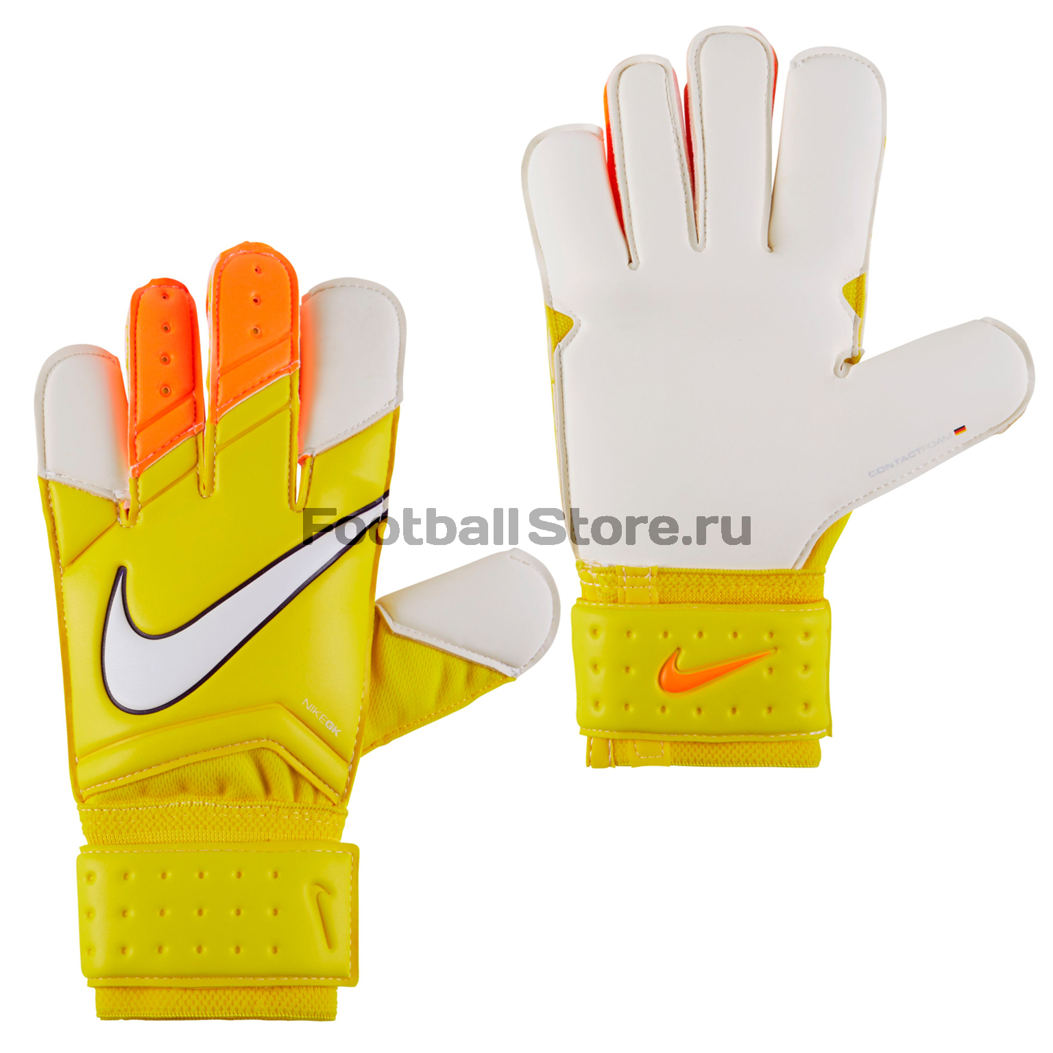 Перчатки Nike Перчатки вратарские Nike GK Vapor GRIP 3 GS0275-790 спортинвентарь nike чехол для iphone 6 на руку nike vapor flash arm band 2 0 n rn 50 078 os