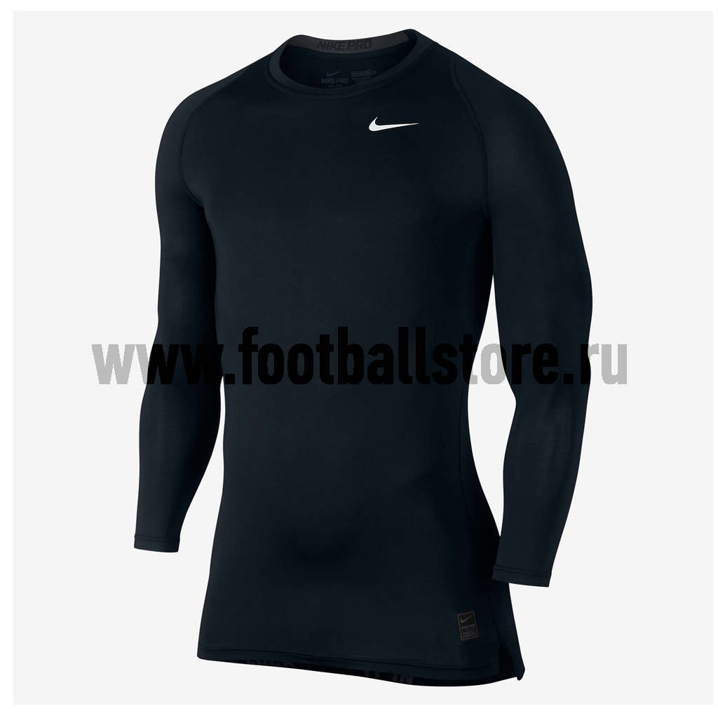 Белье футболка Nike Cool Comp LS 703088-010 nike nike pro hypercool compression tight