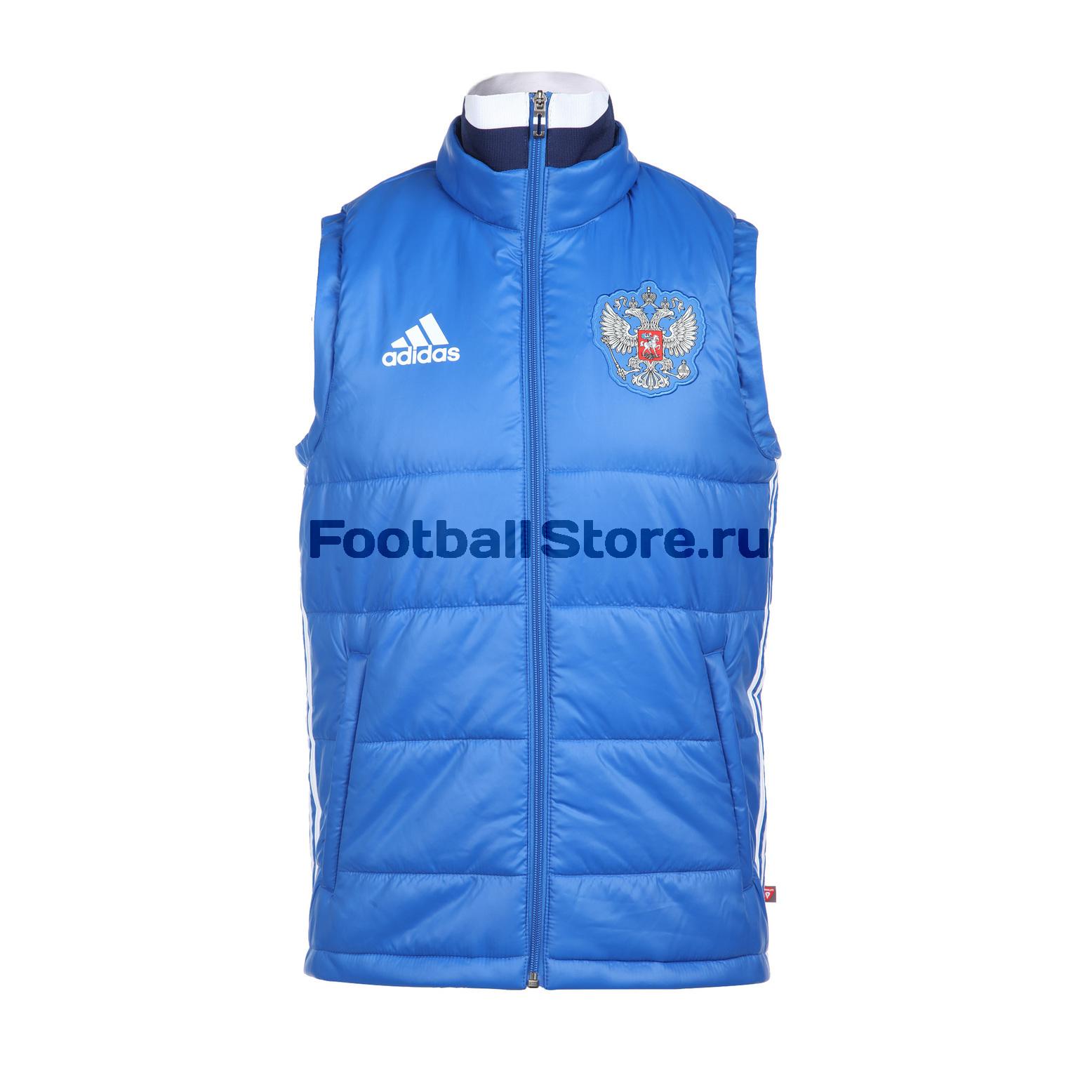 Russia Adidas Жилет Adidas Russia Pad Vest AP5794 adidas adidas russia pad jkt ac5802