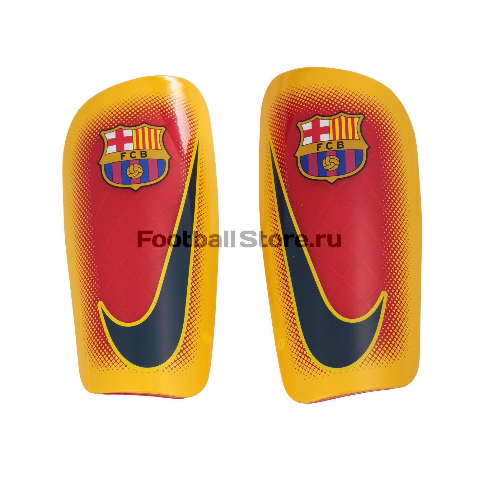 Barcelona Nike Щитки футбольные Nike Barcelona Mercurial Lite SP0303-739 nike nike mercurial lite