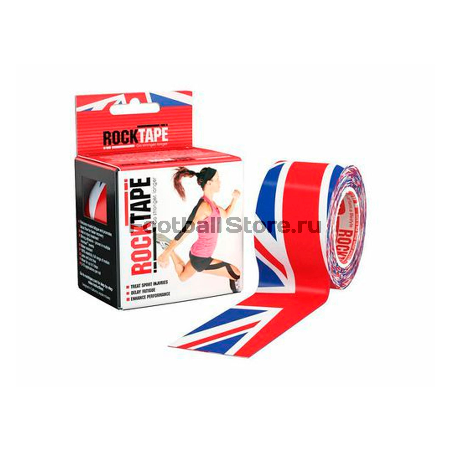Тейп Кинезио Rocktape, design 5см х 5м тейп кинезио rocktape design череп 5см х 5м