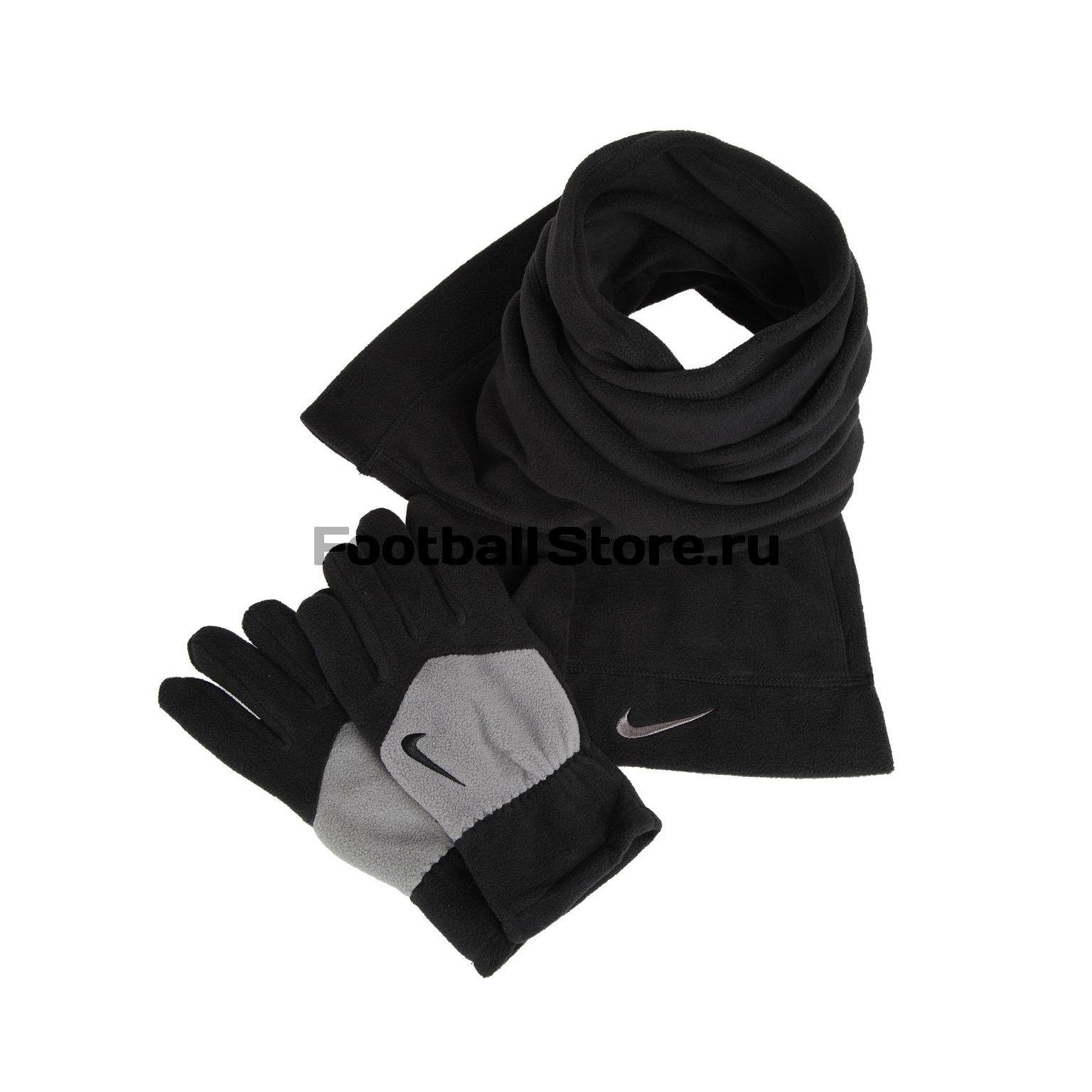 Nike Набор Nike Sport Fleece Перчатки + шарф Tech N.WC.30.035