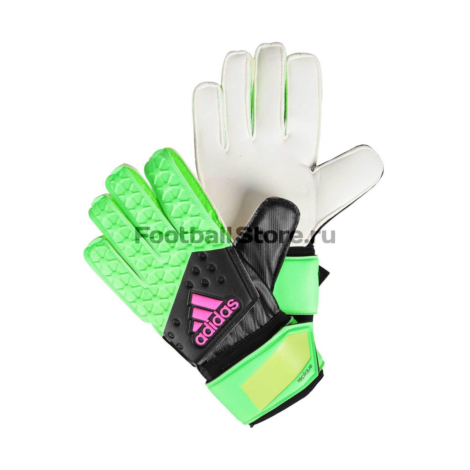 Перчатки вратарские Adidas ACE Replique AH7811 перчатки adidas перчатки вратарские adidas ace magnetic st cd9131