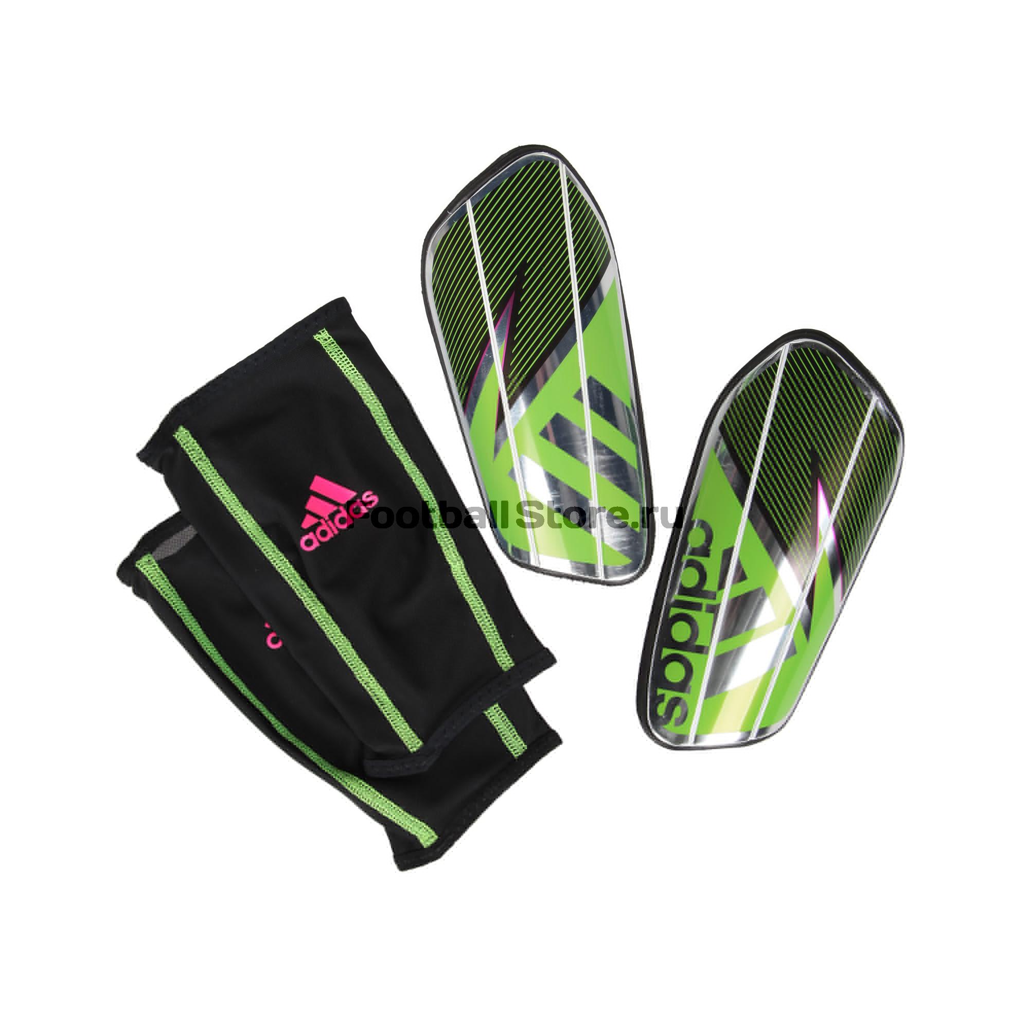 все цены на Защита ног Adidas Щитки футбольные adidas ghost pro AH7776 онлайн