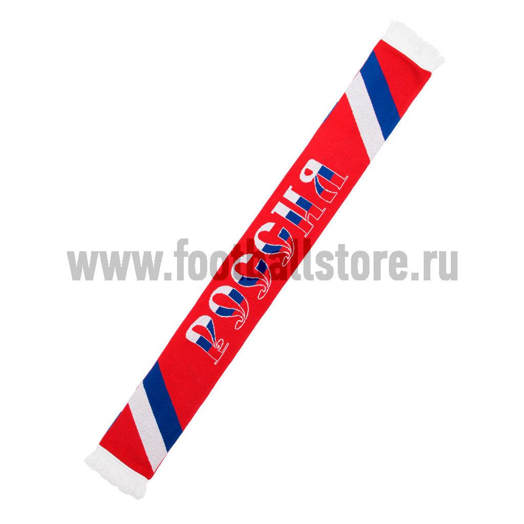 Russia Атрибутика Шарф трикотажный Россия 14307017 россия шарф
