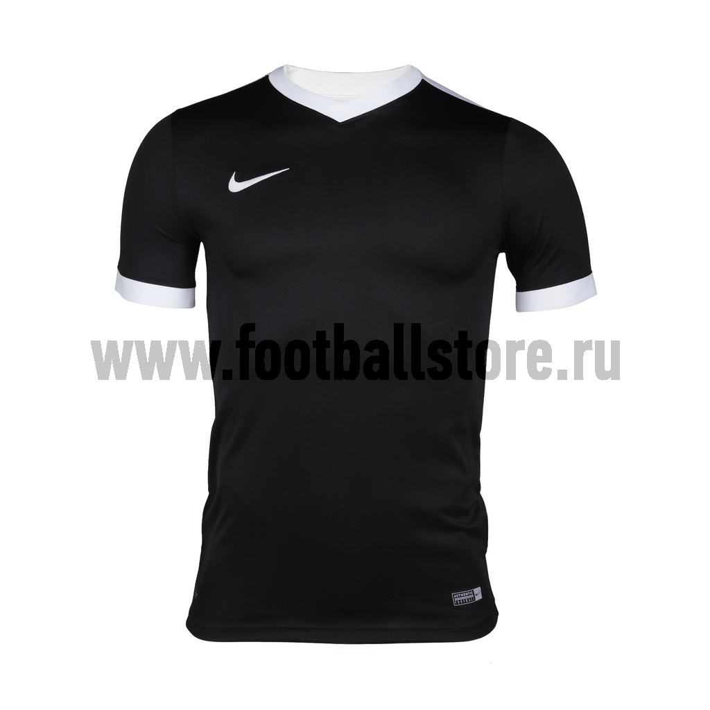 Футболки Nike Футболка Nike SS Striker IV JSY 725892-010 термобелье верх поддевка nike core comp ss top yth sp15 522801 010 s l чёрный