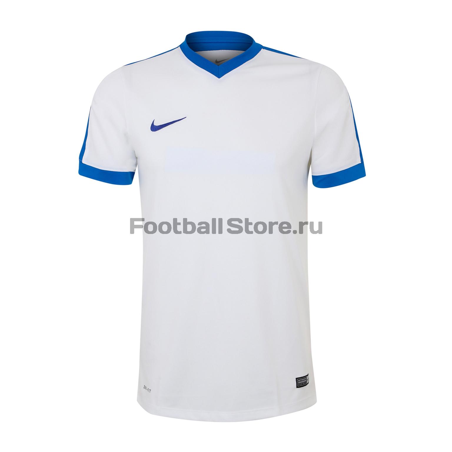 Игровая форма Nike Футболка Nike SS YTH Striker IV JSY 725974-100 футболки nike футболка игровая nike ss precision iv jsy 832975 100
