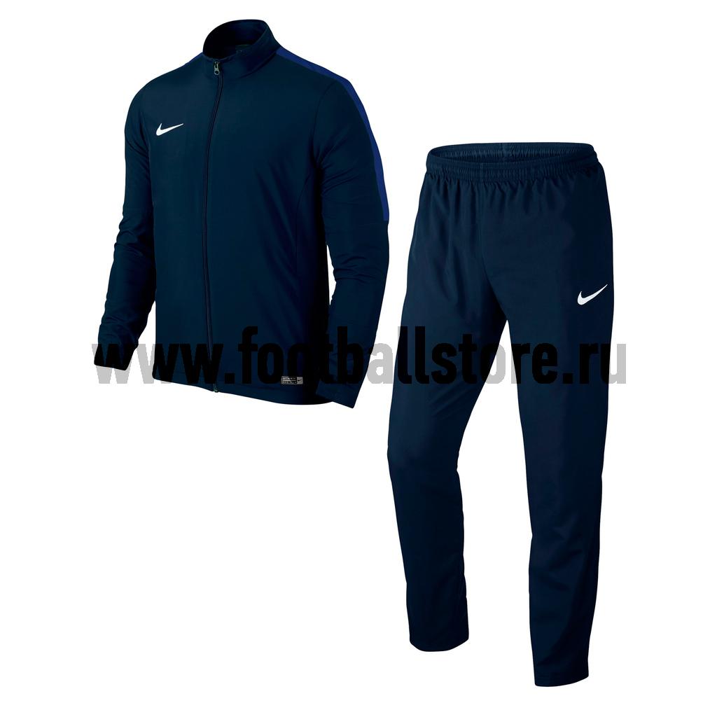 nike спортивный костюм nike club ft track suit cuff Костюмы Nike Костюм спортивный Nike Academy 16 WVN Track Suit 2 808758-451