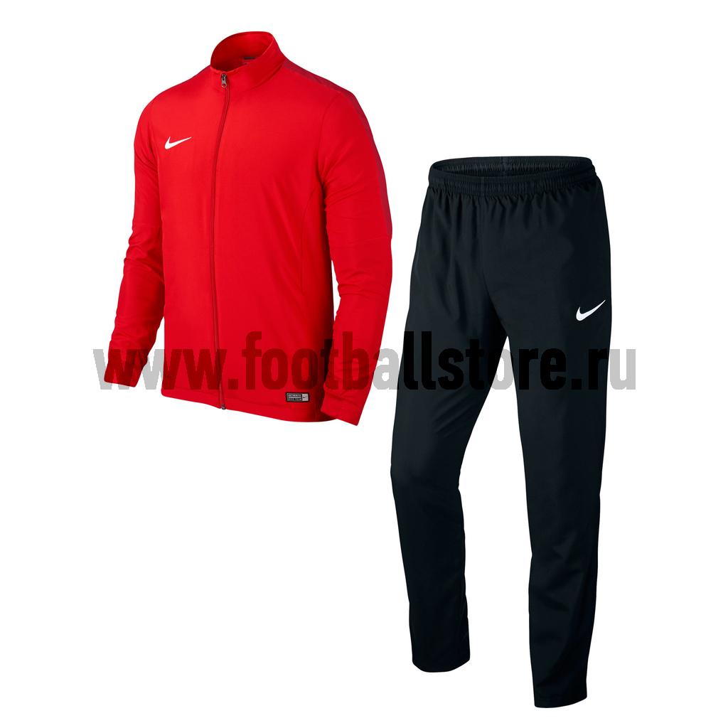 nike спортивный костюм nike club ft track suit cuff Костюмы Nike Костюм спортивный Nike Academy 16 WVN Track Suit 2 808758-657