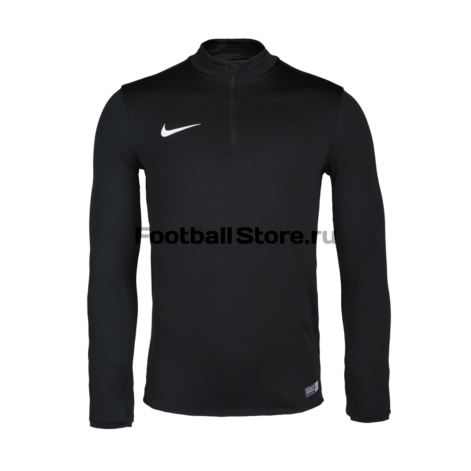 Свитер тренировочный Nike Academy 16 Midlayer Top 725930-010 свитера толстовки nike свитер тренировочный nike ls academy 14 midlayer 588471 657