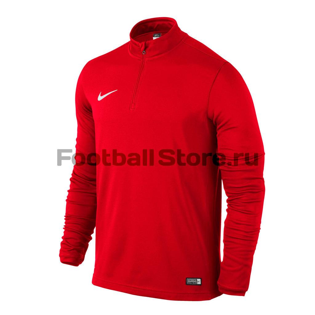 Свитера/Толстовки Nike Свитер тренировочный Nike Academy 16 Midlayer Top 725930-657 свитера толстовки nike свитер тренировочный nike ls academy 14 midlayer 588471 657