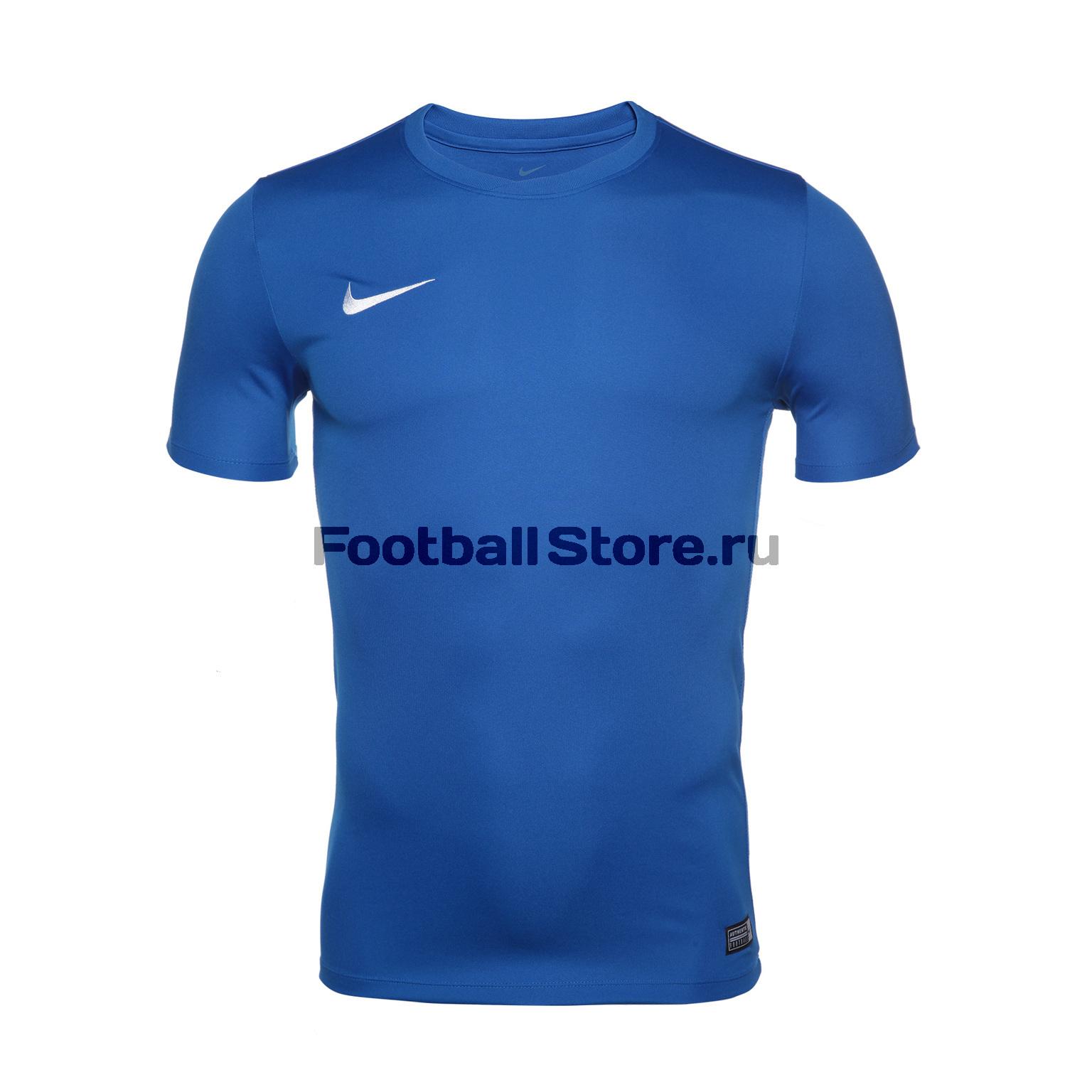 Футболки Nike Футболка Nike Park VI JSY 725891-463 игровая форма nike футболка детская nike ss precision iii jsy boys 645918 410