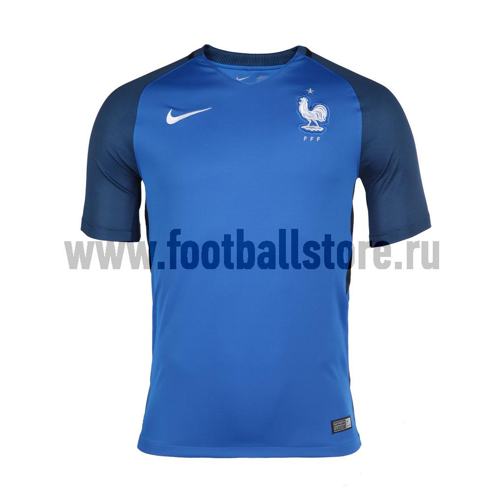 цены  France Nike Футболка Nike SS France Stadium Home  JSY 724615-439