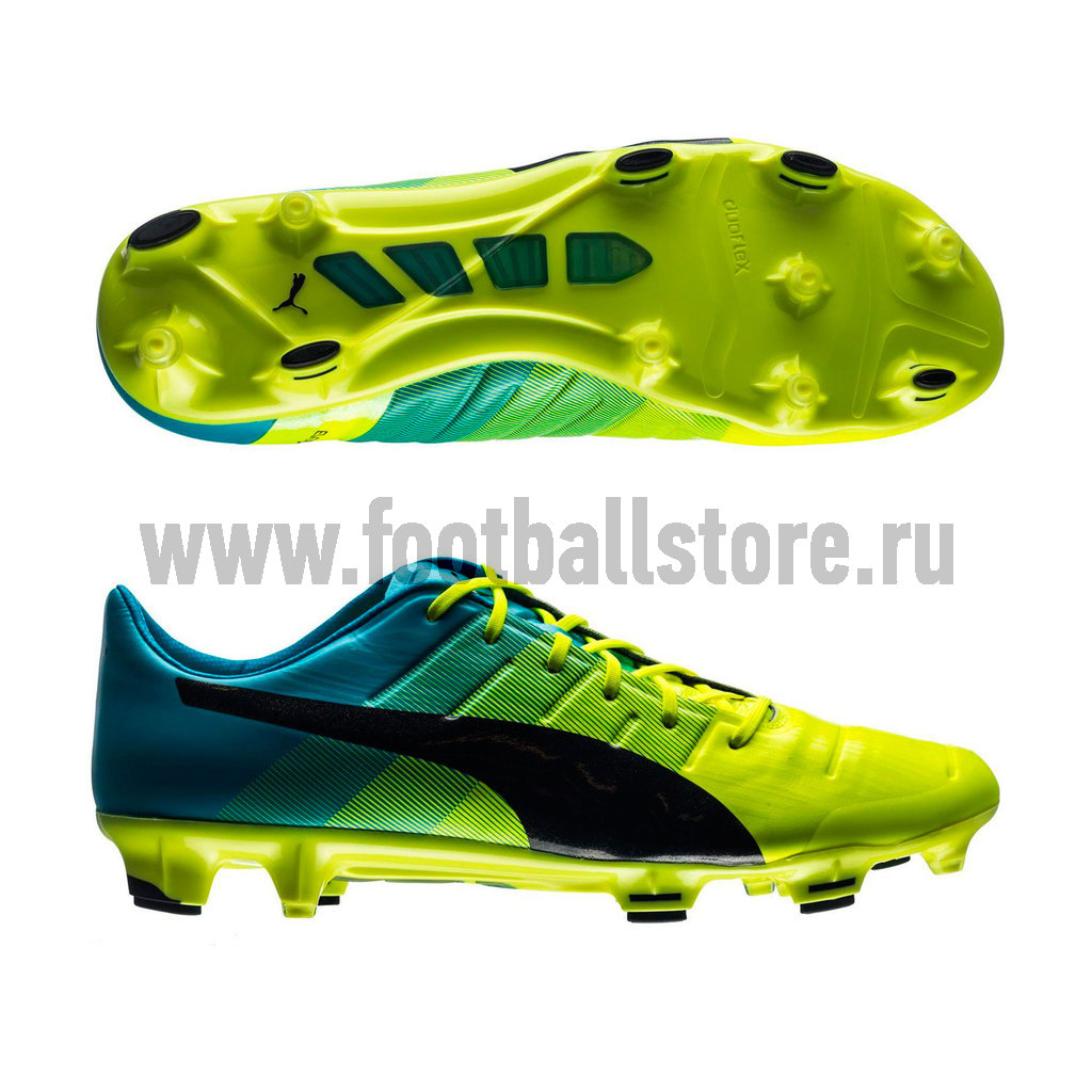 Игровые бутсы Puma Бутсы Puma EvoPower 1.3 FG 10352401 atoll hd120 black