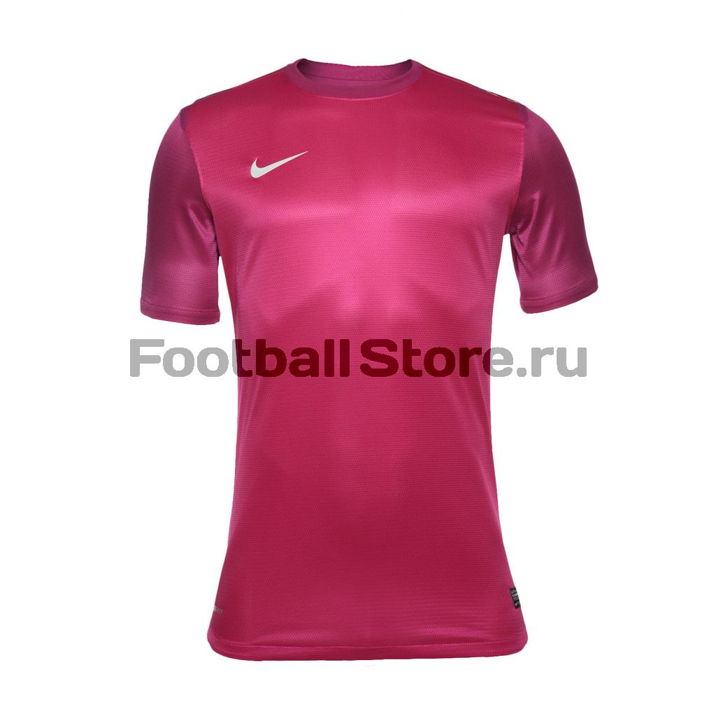 Вратарская футболка Nike Club SS Goalie JSY 483214-673 футболки nike футболка игровая nike ss revolution iv jsy 833017 010