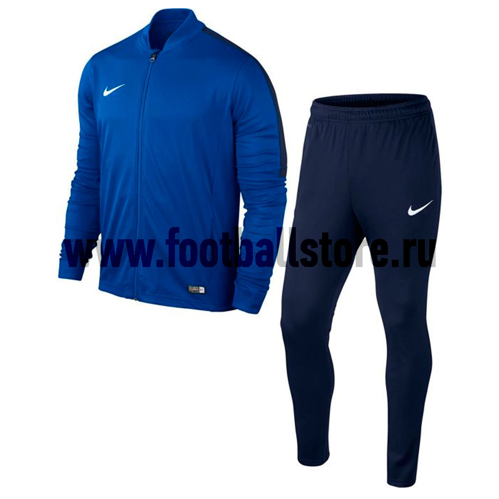 Костюм спортивный Nike Academy 16 KNT Track Suit 2 808757-463 женская утепленная куртка shang feier 4055 2014women winter cotton padded jackets coats slim parka