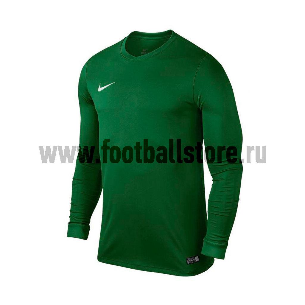 Игровая форма Nike Майка игровая Nike LS YTH Park VI JSY 725970-302 nike лонгслив element 1 2 zip ls top yth