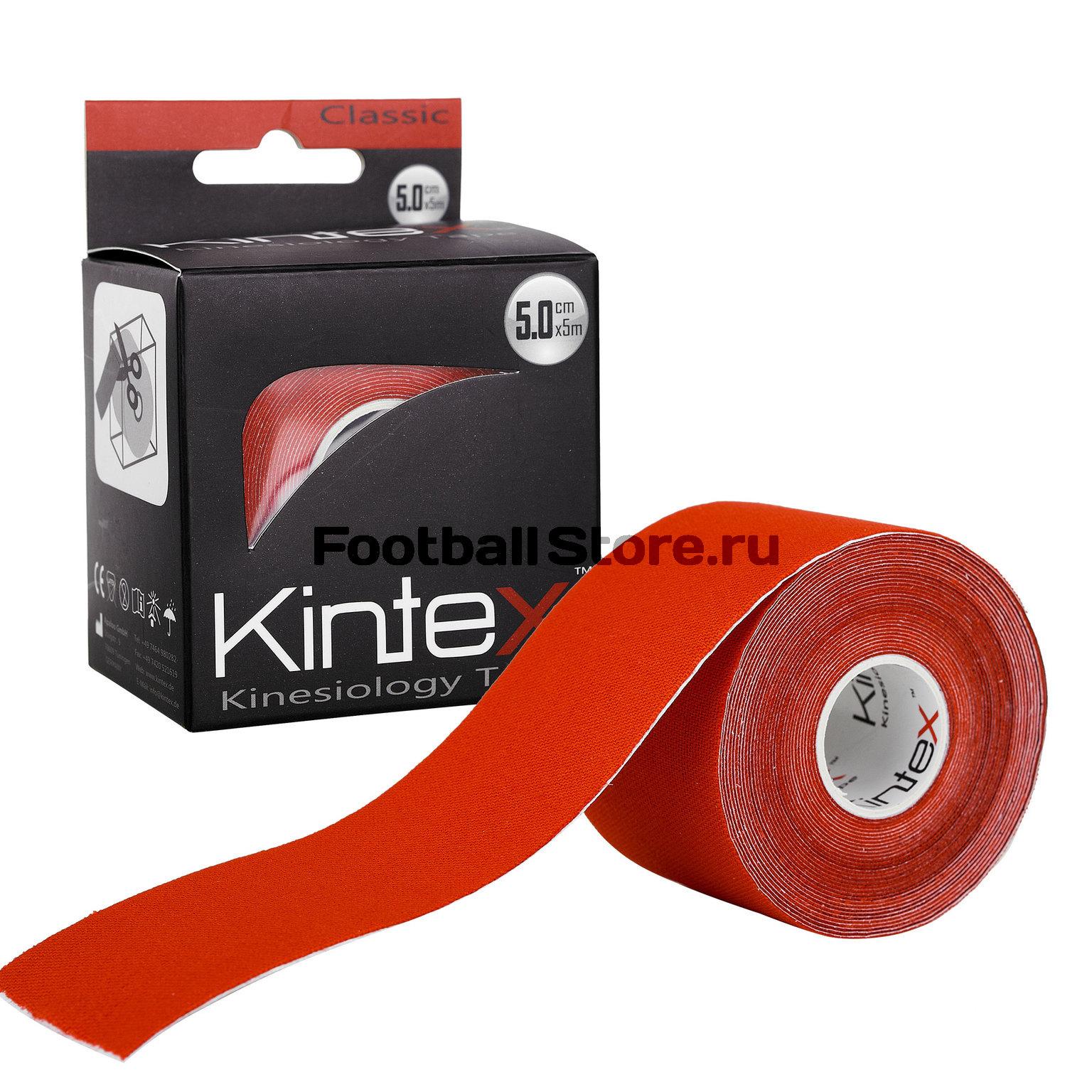 Тейп Kintex, classic, красный, 5см х 5м tonymoly корректирующий патч для тела trust me body taping patch 5см 5м