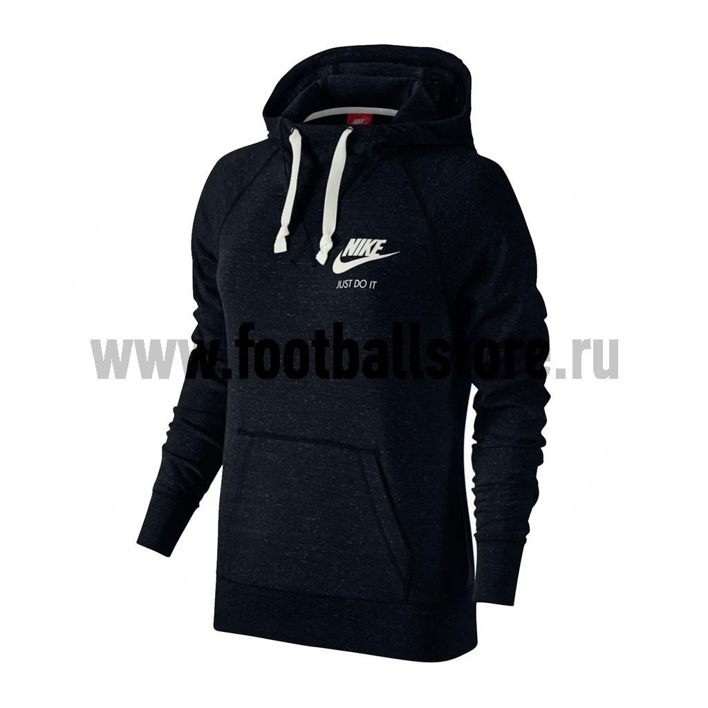 Женская толстовка Nike NSW GYM HOODIE 726059-010