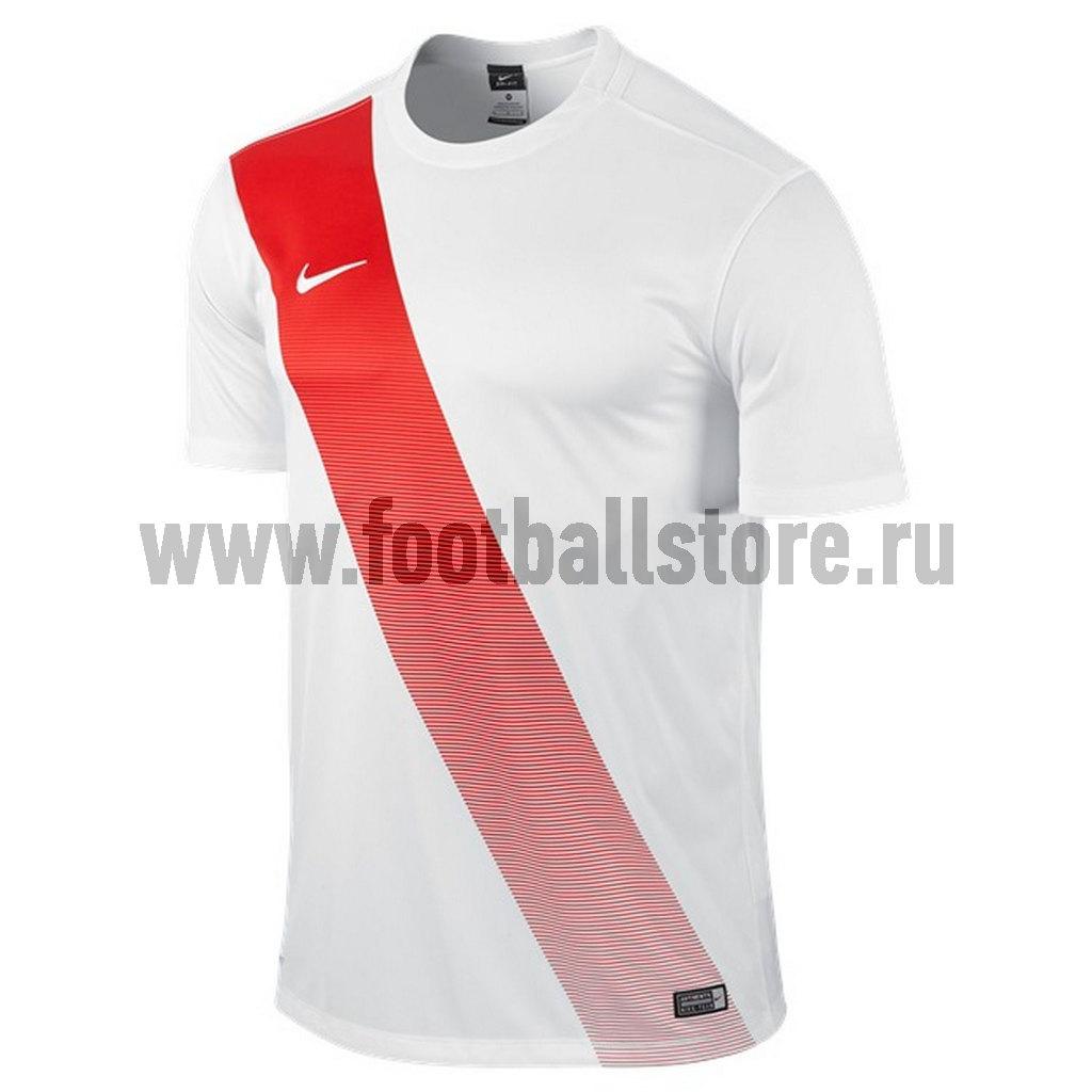 Футболка игровая Nike Sash JSY 645497-105 футболки nike футболка игровая nike ss revolution iv jsy 833017 010