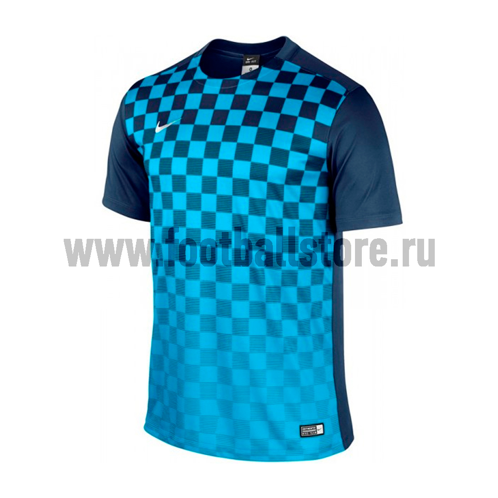 Игровая форма Nike Футболка детская Nike SS Precision III JSY Boys 645918-410 футболки nike футболка игровая nike ss precision iv jsy 832975 100