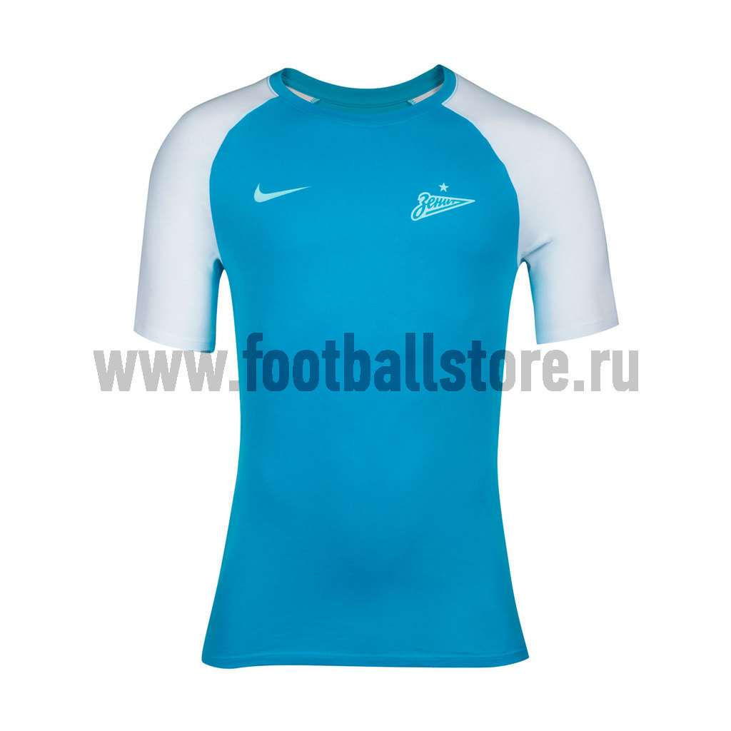 купить Zenit Nike Футболка Nike Zenit Match Tee 812864-498 недорого