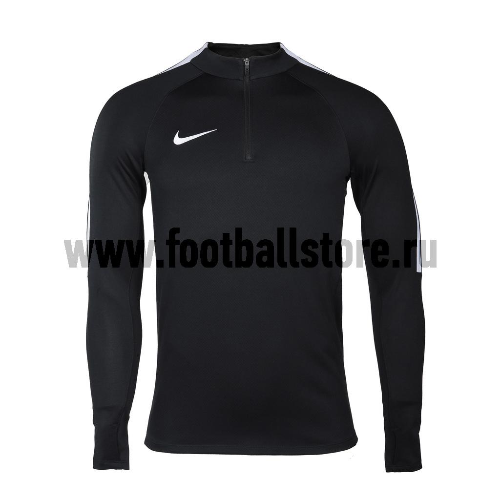 Свитер тренировочный Nike Dril Top 807063-010 свитера толстовки nike свитер тренировочный nike dry sqd top 859197 010