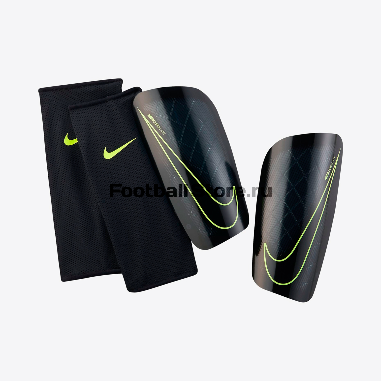 Щитки футбольные Nike Mercurial Lite SP2086-010 original new arrival nike mercurial victory v tf men s light comfortable soccer shoes football sneakers