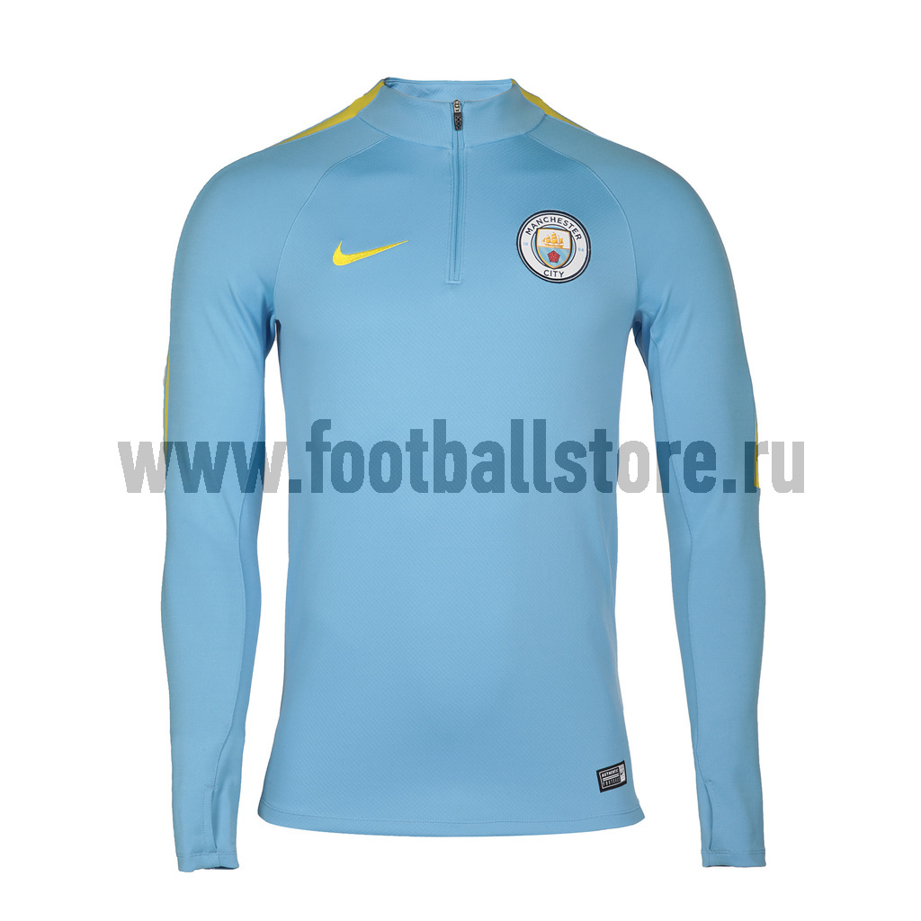 Manchester City Nike Свитер тренировочный Nike Manchester City Top 809683-489