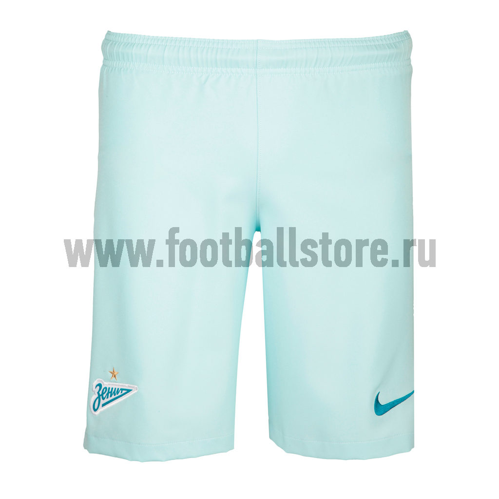 Шорты игровые выездные Nike ФК Зенит 808445-411 гетры выездные nike