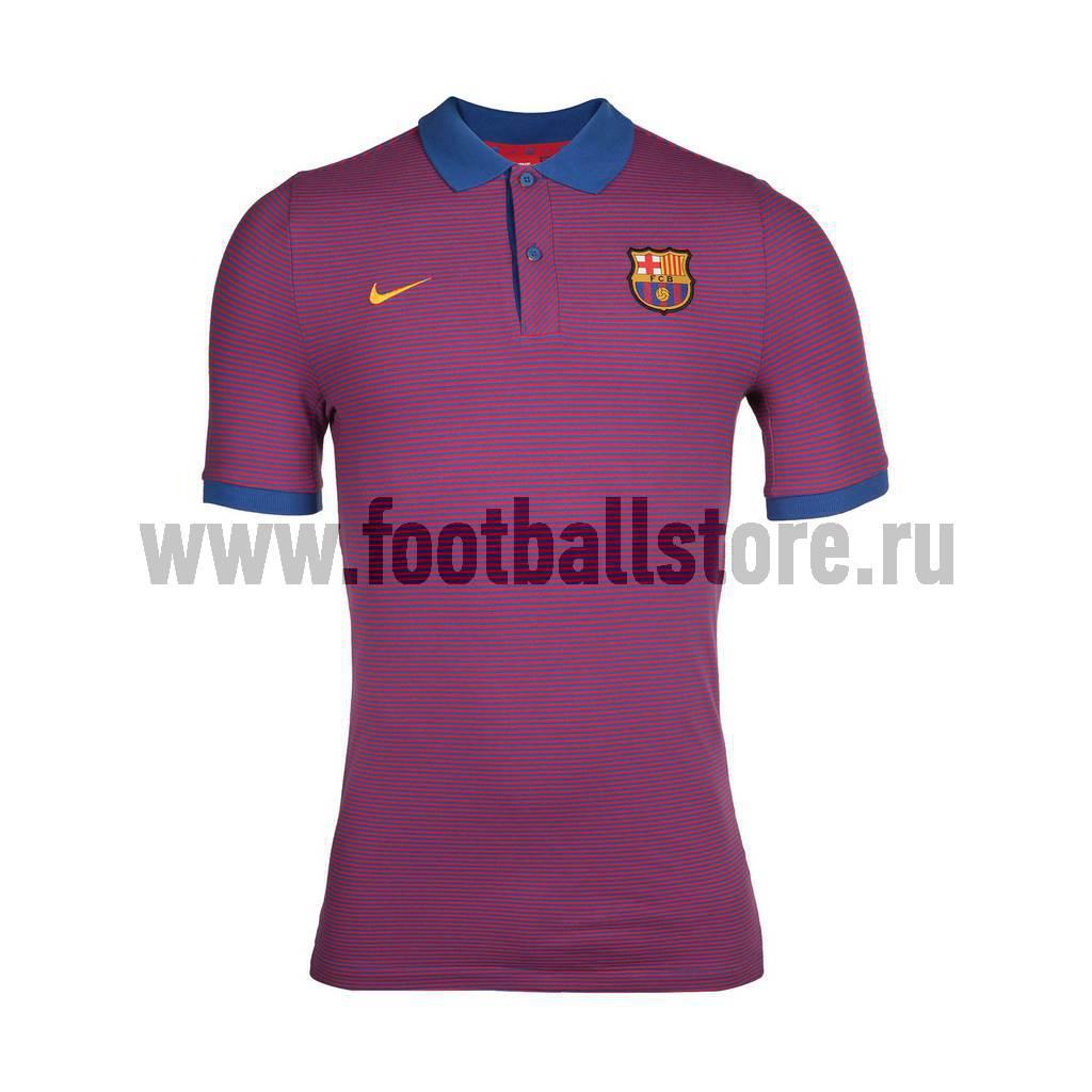 Barcelona Nike Поло Nike FC Barcelona AUTH GS Sim Polo 777268-480  barcelona nike шапка nike fc barcelona training benie crested 805304 010