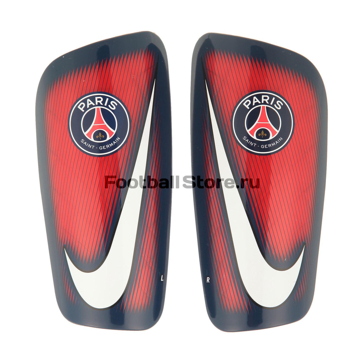 PSG Nike Щитки футбольные Mercurial Lite SP2089-600