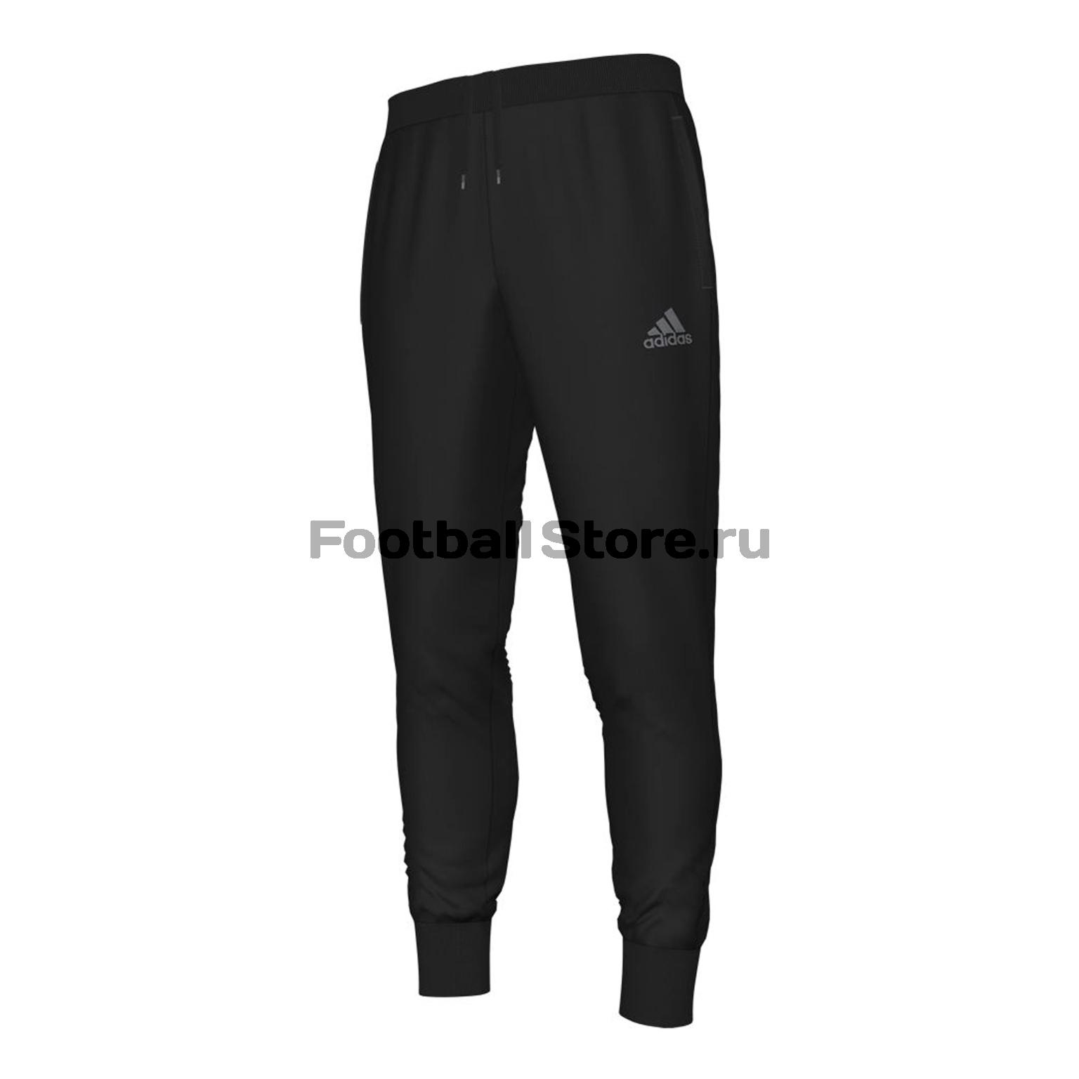 Брюки Adidas Брюки тренировочные Con16 SWT PNT AN9894 adidas брюки mufc eu swt pnt