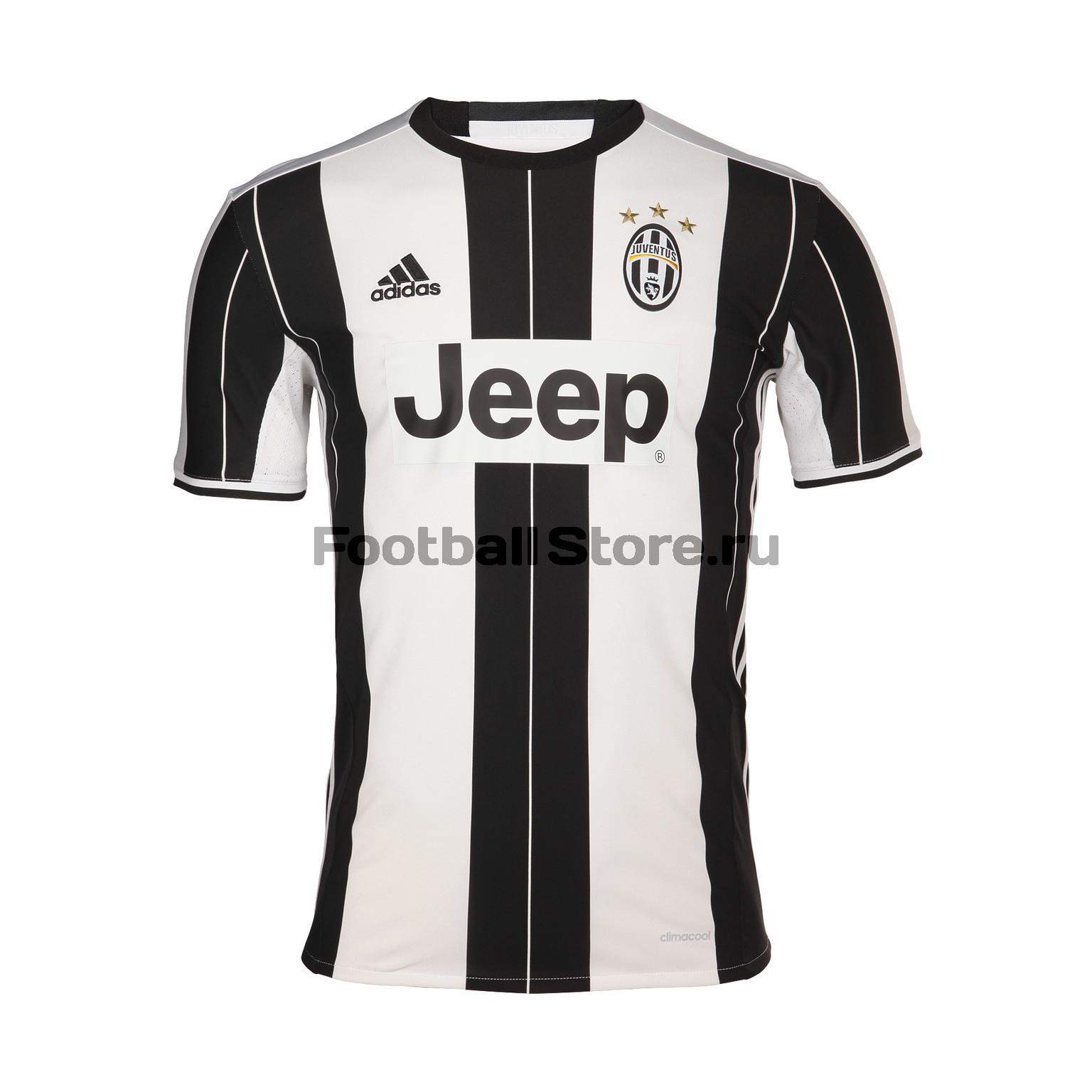 Juventus Adidas Футболка игровая Adidas Juventus Home AI6241 академия групп сумка спортивная juventus