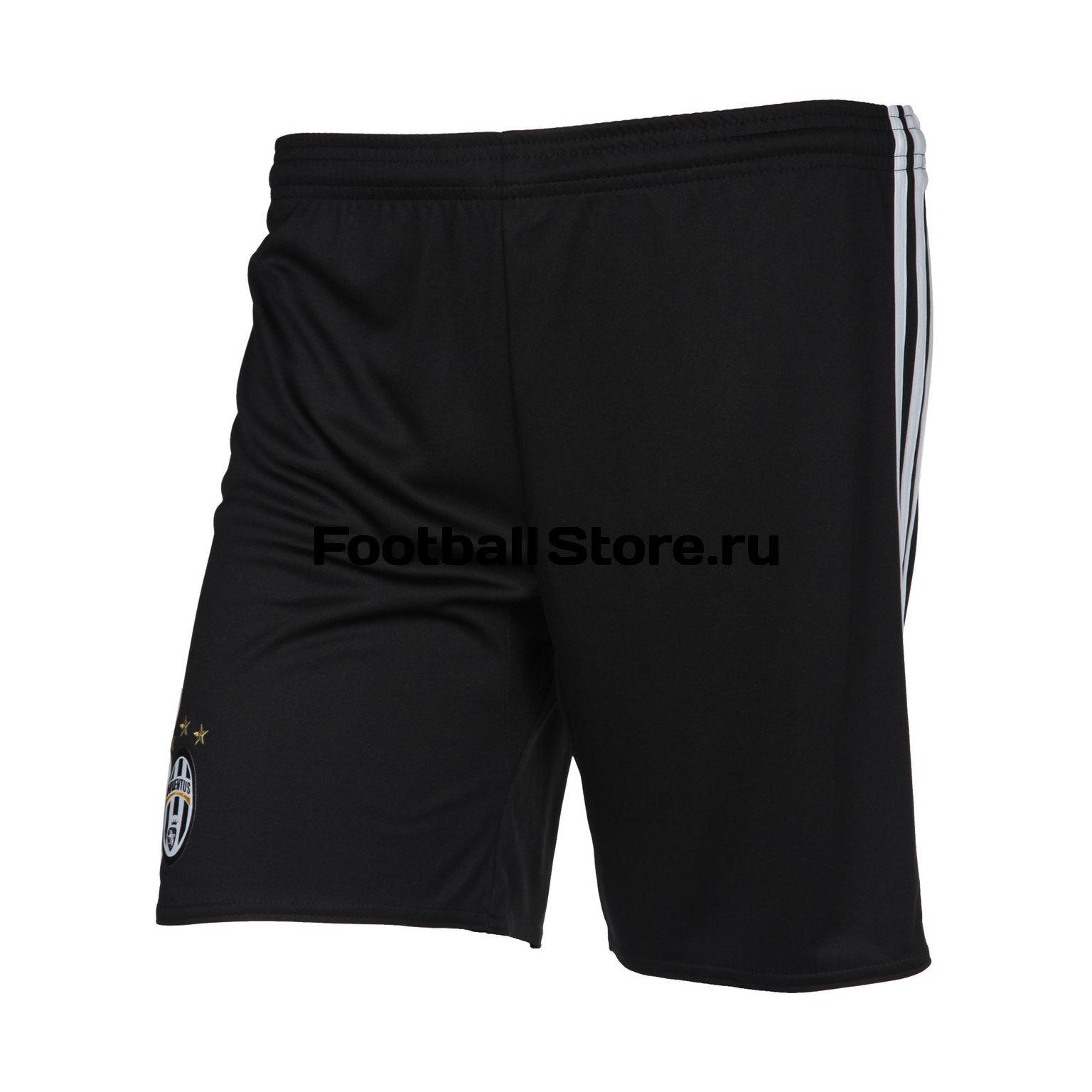 Клубная продукция Adidas Шорты подростковые Adidas Juventus Home AI6249