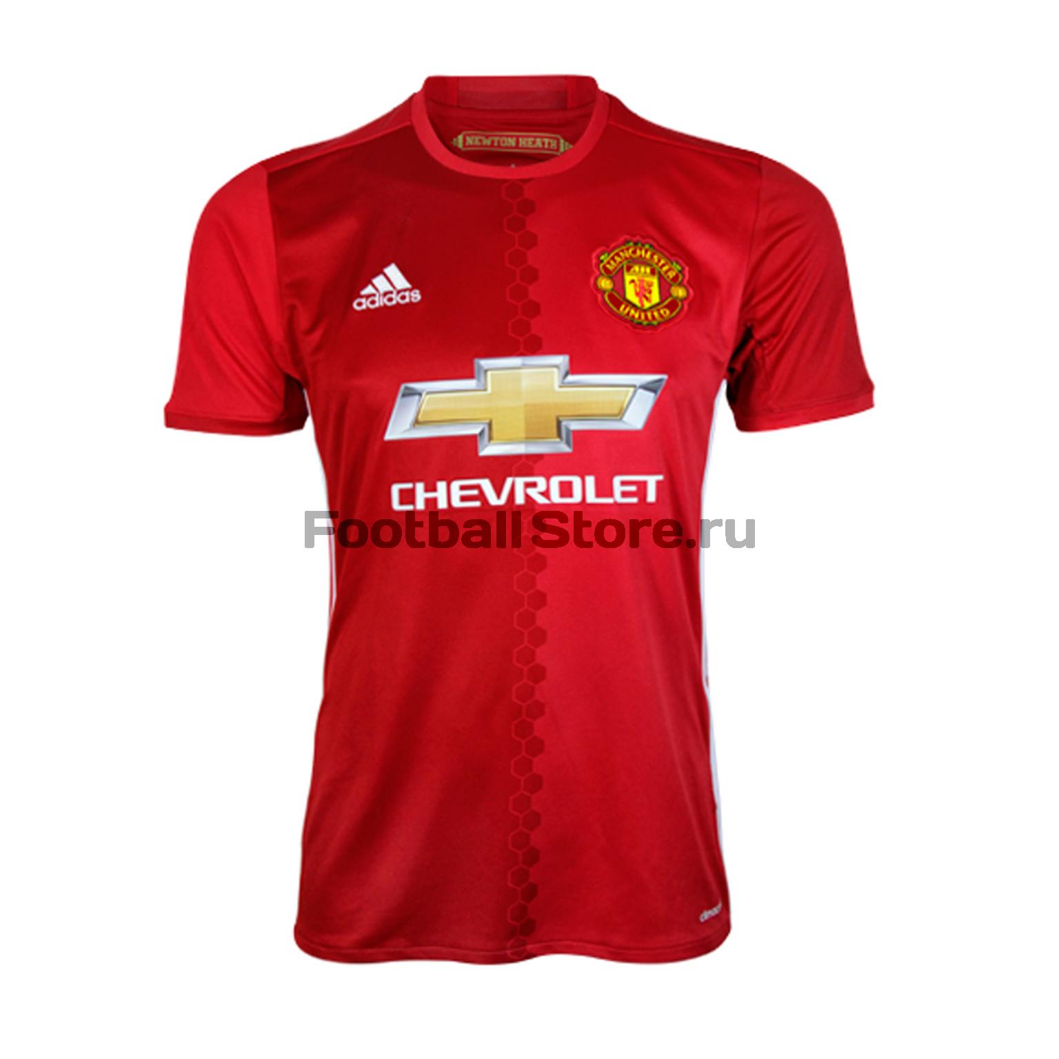Клубная продукция Adidas Футболка подростковая Adidas Manchester United Home AI6716