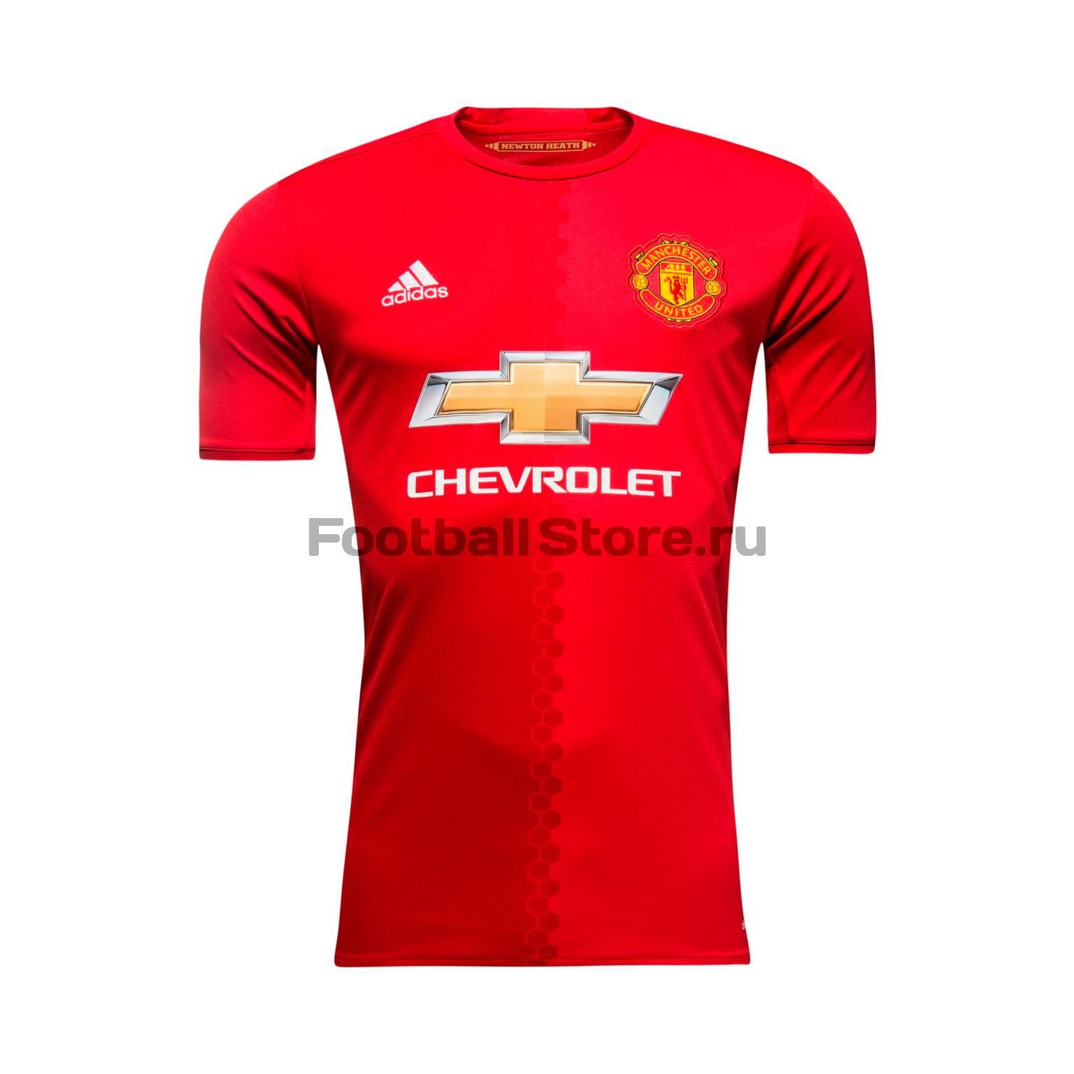 Manchester United Adidas Футболка игровая Adidas Manchester United Home AI6720