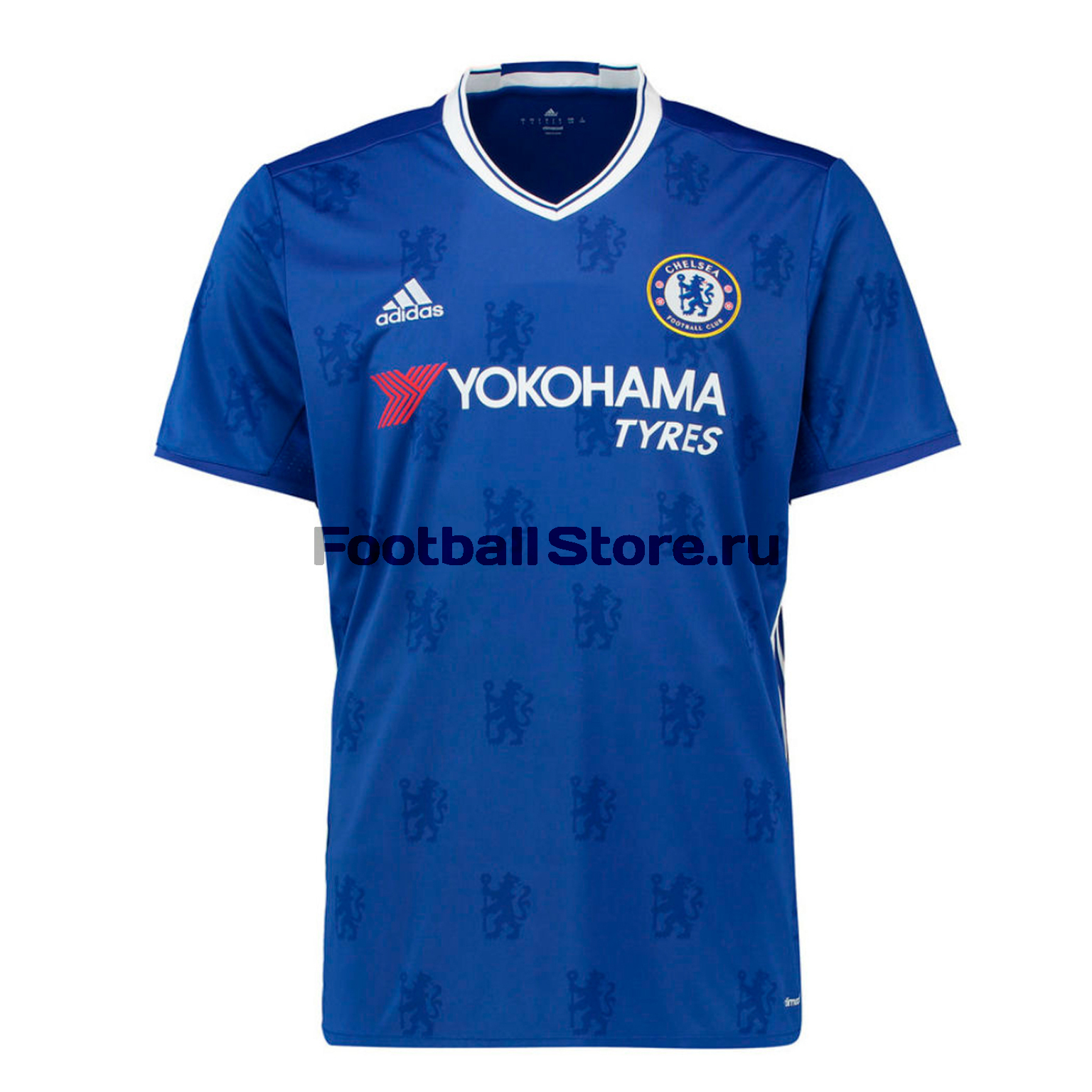 Футболка игровая Adidas Chelsea Home AI7182 adidas adidas fc real madrid 2008 09 home