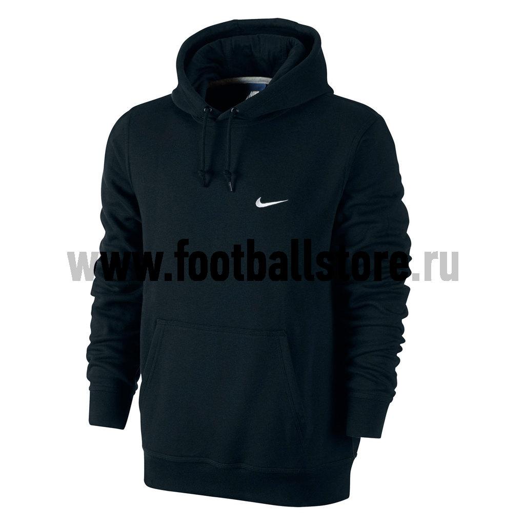 худи adidas худи hoody sweat boxing club Свитера/Толстовки Nike Толстовка Nike Club Hoody Swoosh 611457-010