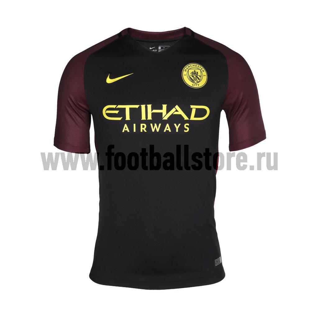 Manchester City Nike Футболка игровая Nike Manchester City Away Stadium JSY 776903-011 nike nike fc manchester united 2014 15 stadium otc