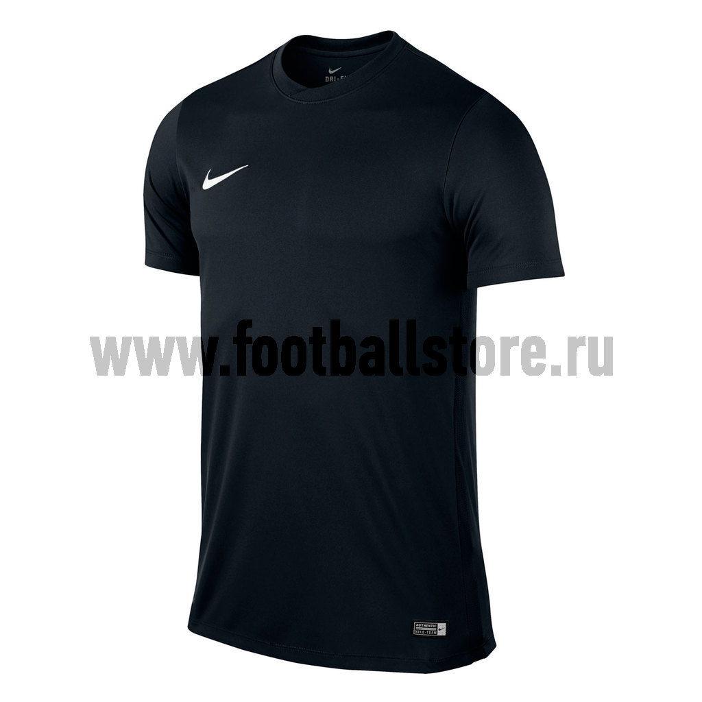 Игровая форма Nike Футболка Nike SS Park VI Boys JSY 725984-010 термобелье верх поддевка nike core comp ss top yth sp15 522801 010 s l чёрный