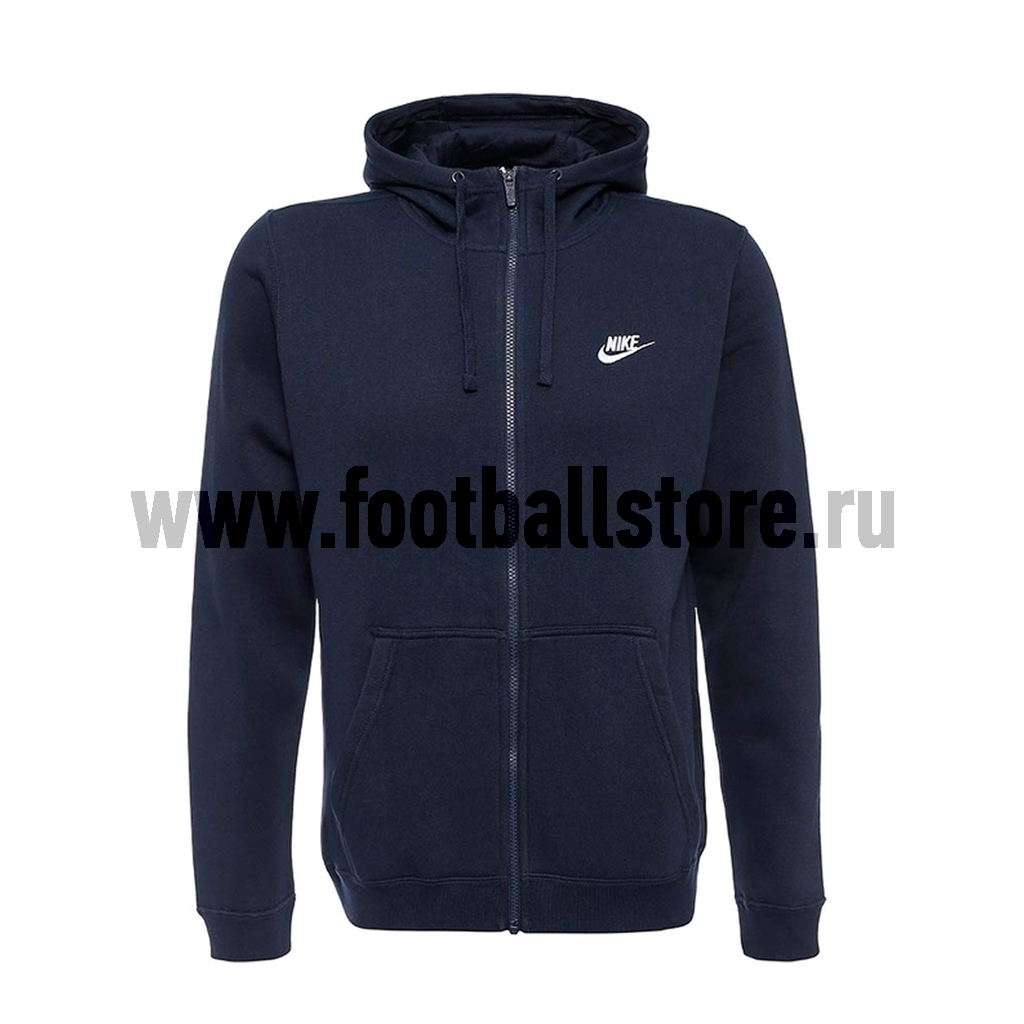 Толстовка Nike M NSW Hoodie FZ FLC Club 804389-451 original new arrival 2017 nike as m nsw av15 pant wvn men s pants sportswear