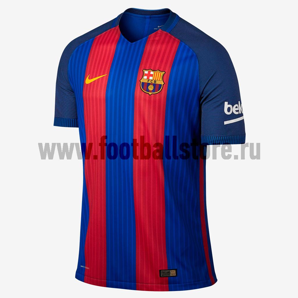 nike ni464emhbg67 Barcelona Nike Футболка игровая оригинальная Nike Barcelona Home Match 776846-481