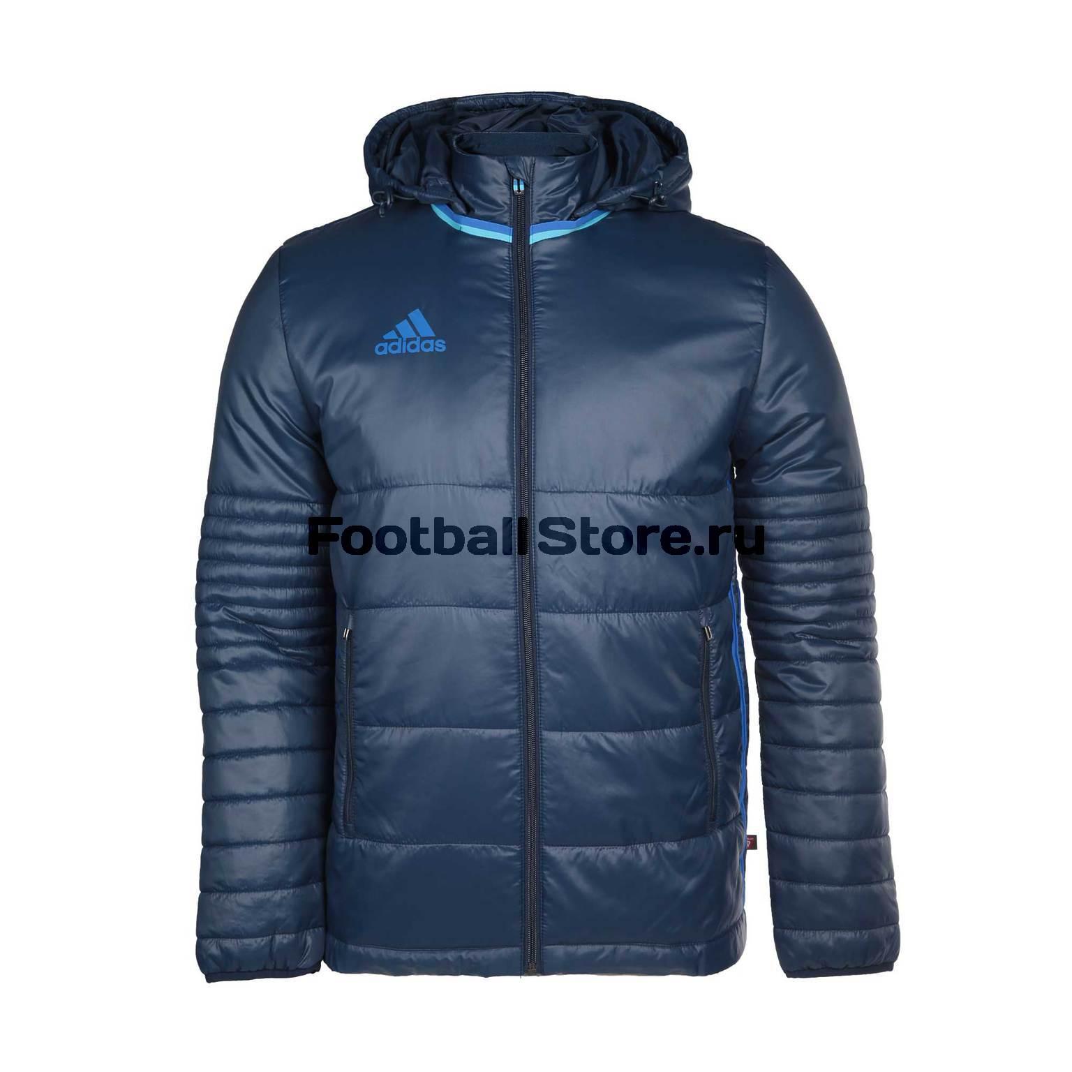 Куртка утепленная Adidas Con16 PAD JKT AB3145 куртки пуховики adidas куртка утепленная adidas jkt18 std parka bq6594