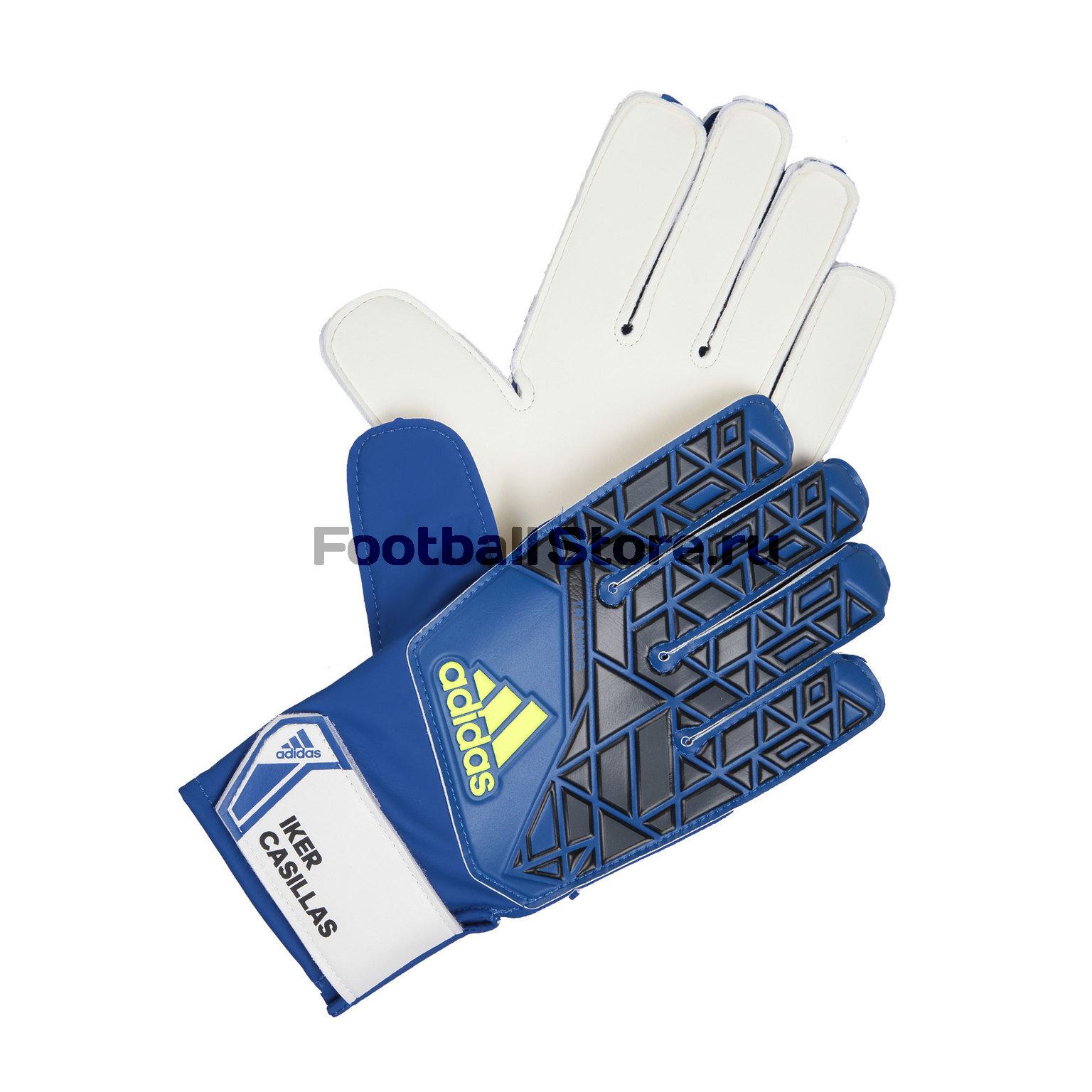 Перчатки вратарские Adidas ACE Traning IC AP7014 перчатки вратарские adidas ace half neg az3688