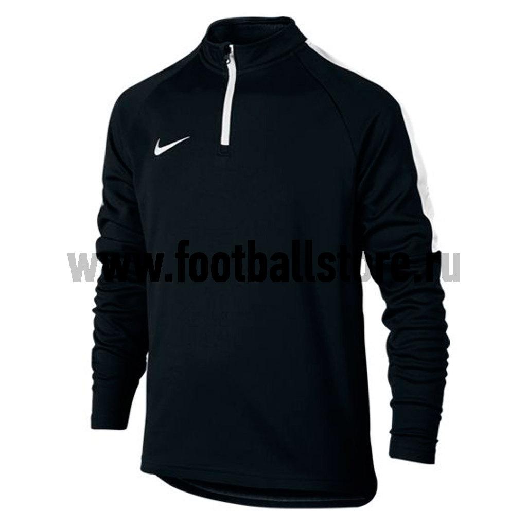 Свитер тренировочный Nike Boys Dril ACDMY Top 839358-010 свитера толстовки nike свитер тренировочный nike dry sqd top 859197 010