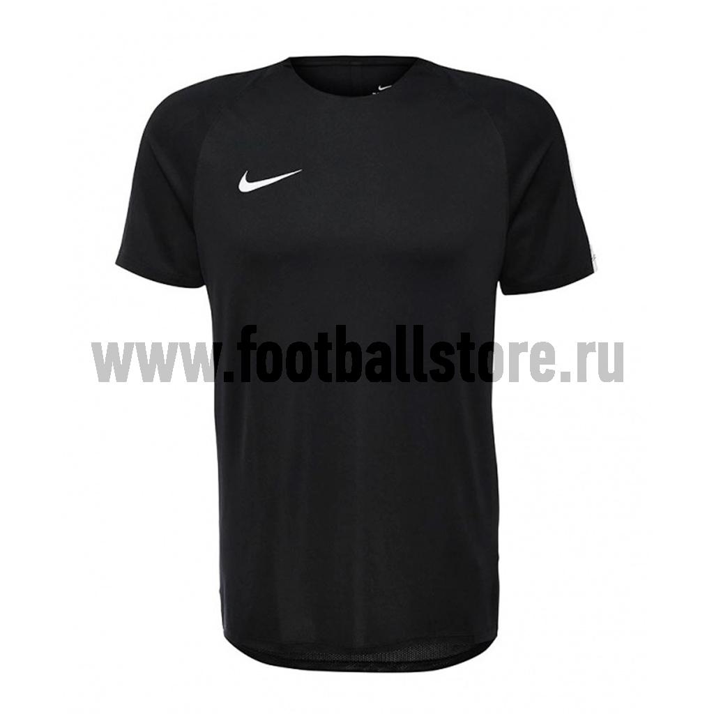 Футболки Nike Футболка тренировочная Nike Dry Top SS SQD 807243-010 игровая форма nike футболка детская nike ss precision iii jsy boys 645918 410