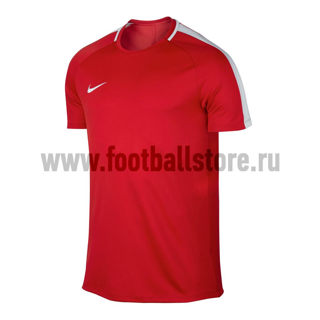 Футболка тренировочная Nike Academy 832967-657 костюм спортивный nike dry academy 18 football tracksuit 893709 657 красн черн