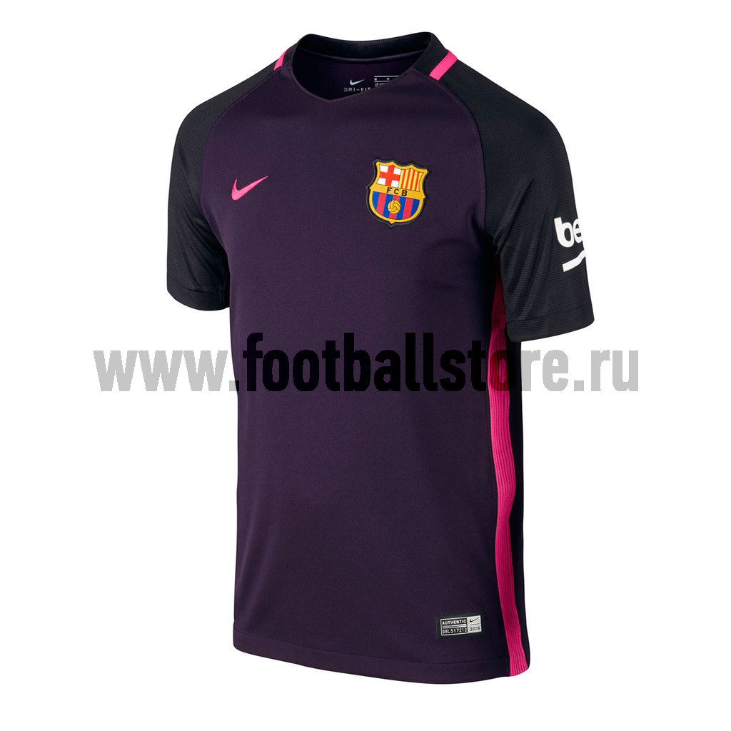 Клубная продукция Nike Футболка подростковая Nike Barcelona Away 777027-525
