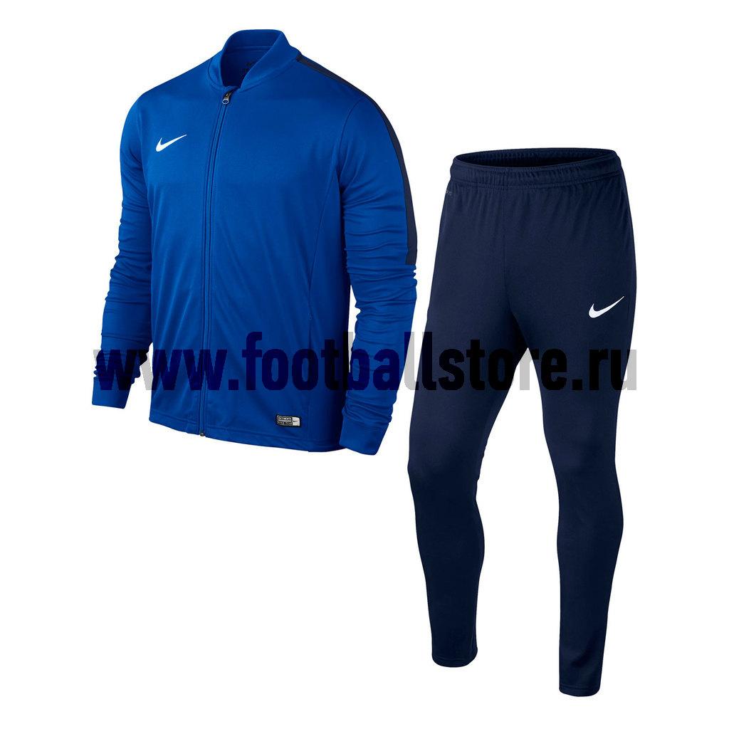 Тренировочная форма Nike Костюм спортивный подростковый Nike Academy 16 KNT Track Suit 2 JR 808760-463 nike nike swsh fleece gx track